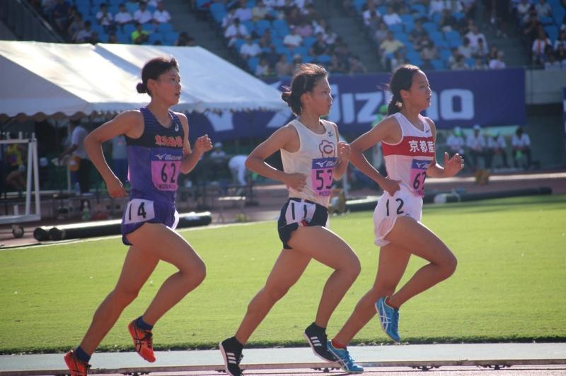女子10000mで須藤選手が5位入賞...